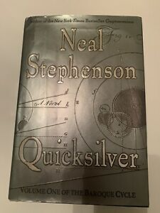 Quicksilver by Neal Stephenson (2003, ) First Edition Hard Back
