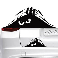 Peeking Monster for auto Walls Windows Funny Sticker Graphic Vinyl Car Decal 2PC