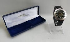 Vintage Avia Corvette Swiss 17Jewel Mechanical Slide Rule Gents Watch Boxed
