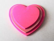 Rosa Amore Cuore POST-IT blocco, circa 100 FOGLI, giorno S. Valentino Decorazioni
