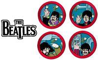 The Beatles - Drop T Logo + Yellow Submarine Patch Lot [UK Import] Memorabilia