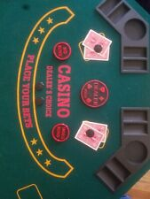 Texas Holdem Poker Button Includes Dealer, Small Blind, Big Blind, 4 Card Guard