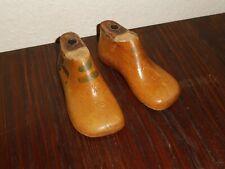 alte Kinder Schusterleisten / Schuhleisten 1 Paar 13,5cm lang 5 1/2 breit Mini