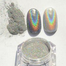 Nail Art Glitter Powder Rainbow Chrome Effect Pigments Shiny Makeup Accessories