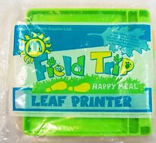 1993 Vintage McDonald's Happy Meal Field Trip Leaf Printer MIP C10!
