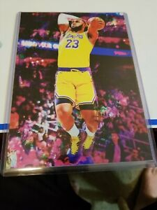 2020 (5x7) Lebron James Los Angeles Lakers 4/25 Art ACEO Sketch Print Card By:Q