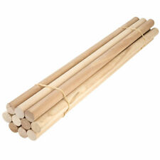 Dowel 30cm Rich Pine Wood 6,9,12,15,21,25,35 /& 43mm Diameter Trade /& Craft