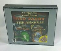 Command and Conquer Red Alert The Arsenal / Original + Aftermath PC CD-Rom Game