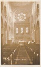 Postcard - Waltham - Waltham Abbey - The Nave