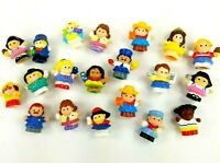 Vintage Lot Fisher Price Mattel Little People Mixed Figurines Lot of 20