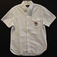 Polo Ralph Lauren Mens White USA Flag S/S Button-Front Shirt NWT $89 Size XXL