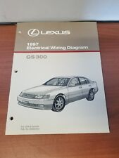 NEW LEXUS 1997 GS300 ELECTRICAL WIRING DIAGRAM FOR USA CANADA EWD276U