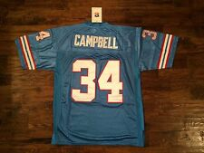 NWT Mitchell & Ness Earl Campbell Throwbacks Jersey Size 48(M) Stitched/sewn On