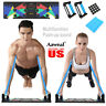 9 in 1 Push Up Rack Board System Fitness Workout Training Gym Exercise Stands