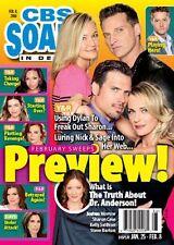 Steve Burton, Karla Mosley, Deidre Hall - February 8, 2016 CBS Soaps In Depth
