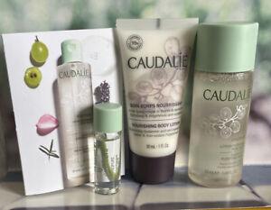 Caudalie Vinopure Purifying Toner 50ml & 5ml & Nourishing Body Lotion 30ml NEW