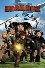 How to Train Your Dragon 2 : Cast - Maxi Poster 61cm x 91.5cm new and sealed