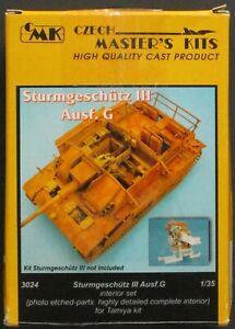 CMK Kits 1/35th Scale Sturmgeschutz III Ausf G Resin Detail Set No. 3024 Used!!