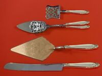 Prelude by International Sterling Silver Dessert Serving Set 4pc Custom Made