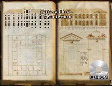 Ottavo libro d'architettura 1554 AD Manuscripts