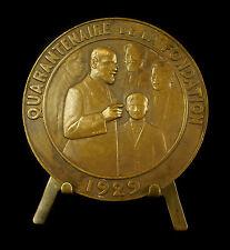 Médaille Docteur Berillon école de psychologie psychothérapie 1889 Lenoir Medal