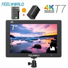Feelworld T7 7'' IPS 1920x1200 HDMI On Camera Support 4K Video Monitor + Battery