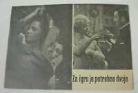 Peter Sellers ONLY TWO CAN PLAY Mai Zetterling Yugoslavian movie program RARE