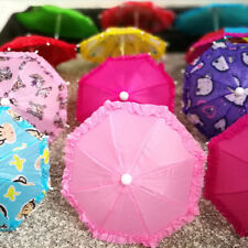 Doll Accessories Colorful Umbrella for Doll Toys for Girls Christmas Gift Kids p