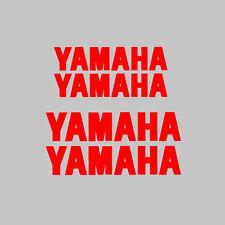 4x Yamaha Motor cycle/bike calcomanía de pegatinas gráficos Kit + Logo