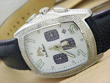TECHNO MASTER  Chronograph  Watch 2.50CT Diamond  Bezel