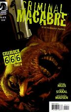 CRIMINAL MACABRE Cellblock 666 #4 New Bagged