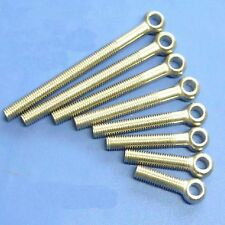 Lot 10 Metric M6*30 mm 201 Stainless steel eyelet bolt