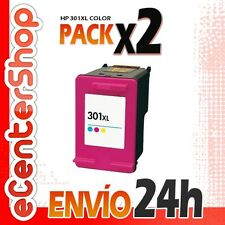 2 Cartuchos Tinta Color HP 301XL Reman HP Deskjet 3050 A 24H