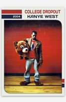 KANYE WEST 2004 THE COLLEGE DROPOUT RECORDING ARTIST CUSTOM ROOKIE RC CARD