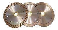 "3 Pack of 4.5"" Diamond Saw blades Cut brick, block, concrete, stone, tile, etc"