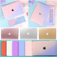 "Metallic Cream Matte Hard Case+Keyboard Cover for Macbook Air Pro 11"" 12"" 13""15"""