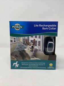 NIB 15 Level PetSafe Rechargeable Lite Dog Bark Control Collar PBC00-16446