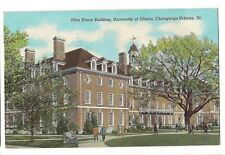 ILLINI UNION BUILDING University of ILLINOIS Champaign-Urbana Postcard IL 1941