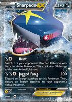 Sharpedo EX 91/160 XY Primal Clash Ultra Rare Holo Pokemon Card NEAR MINT TCG