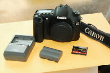 Canon EOS 30D 8.2MP Digital Camera+ Strap-Batteries/Charger-CF card-Free Ship.