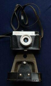 Smena 8M 35mm Film Camera - Soviet Union (USSR), 1977, Working, w/o Spool