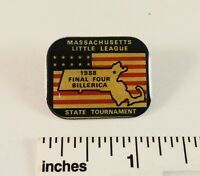 Little League Baseball Pin(s):(1) 1988 Final Four Billerica - Mass - State Tourn