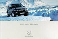 Mercedes-Benz Prospekt/brochure Off-Roader der M-Klasse 12/2001