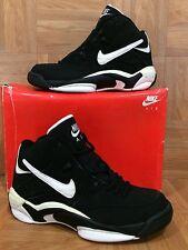 Vintage🔥 Nike Air Quick Flight Mismatched L7-R8 Black White 630149-014 VTG 90's