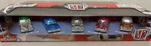 M2 Machines 1/64 Clearly Autothentics 5 car set