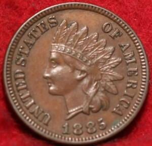 1885 Philadelphia Mint Indian Head Cent