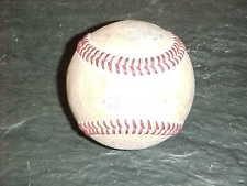 1990s NCAA Championship Game Used Official Baseball