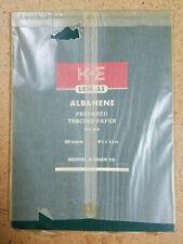 K&E Keuffel Esser Albanene Prepared Tracing Paper Pad - 50 Sheets NEW Vintage