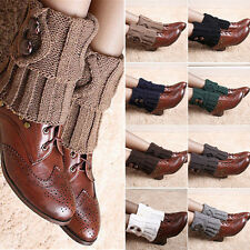 Damen Wadenwärmer Trachtenstrümpfe Stulpen Socken Trachtensocken Stiefelsocken