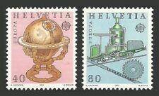 Switzerland Trains, Railroads Stamps